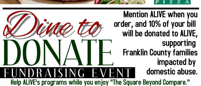 January 16, 2018- Dine to Donate at Imo's in Washington
