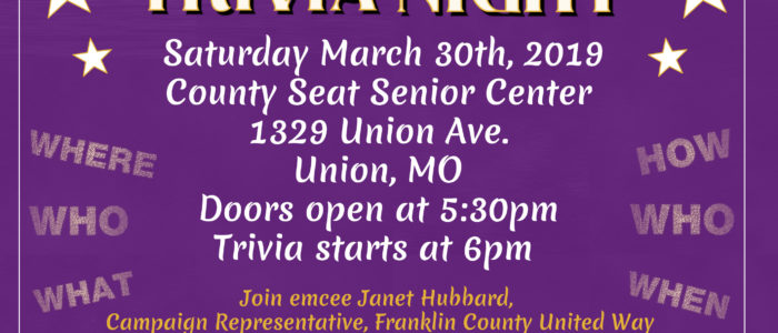 Famous Couples Trivia in Union…Join Us!